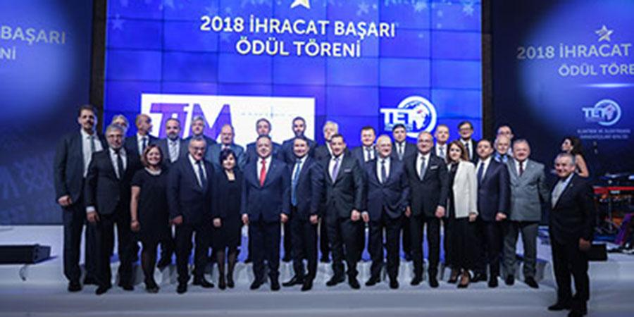 TET 2018 İhracat Başarı Ödülleri