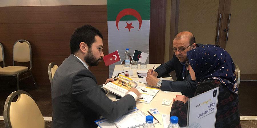 Cezayir Sektörel Ticaret Heyeti