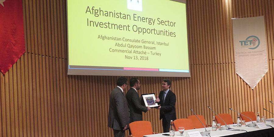 Afganistan Enerji Sektörü Bilgilendirme Semineri