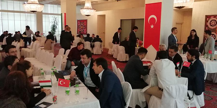 Tacikistan Sektörel Ticaret Heyeti